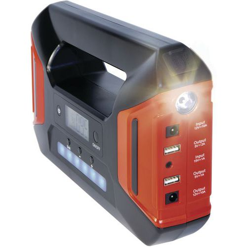 Booster batterie lithium - Nomad power 30 compressor - Gys