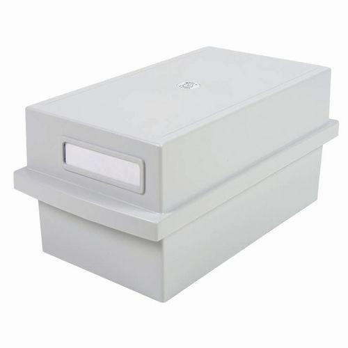 Boîte K pour 600 fiches gris lumière - Exacompta