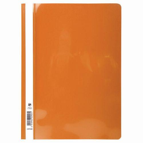 Chemises économiques Pvc oranges - Exacompta