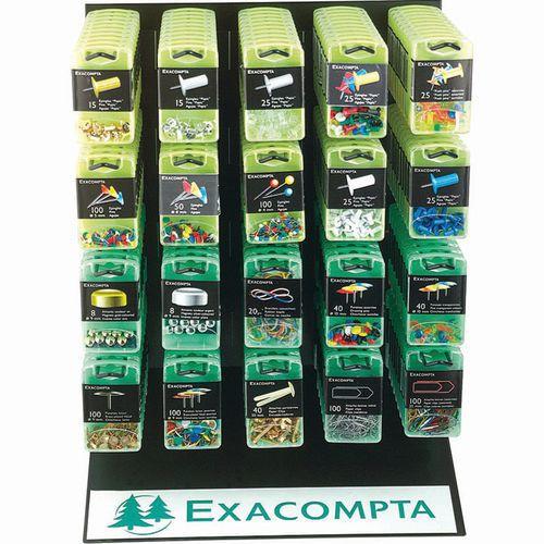 Présentoir de boîtes d'accessoires - Exacompta