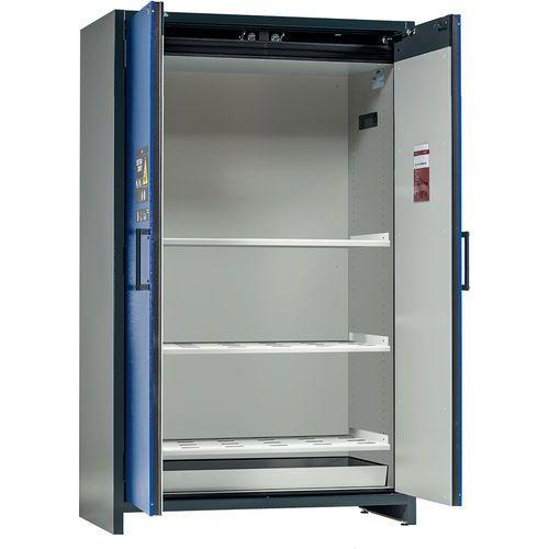Armoire de sécurité pour stockage passif batteries Lithium STORE PRO sans alarme - Largeur 120 cm - Asecos