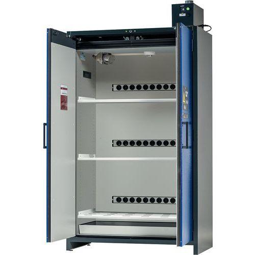 Armoire de sécurité pour stockage batteries Lithium Pro ION K3 avec alarme - Largeur 120 cm - Asecos