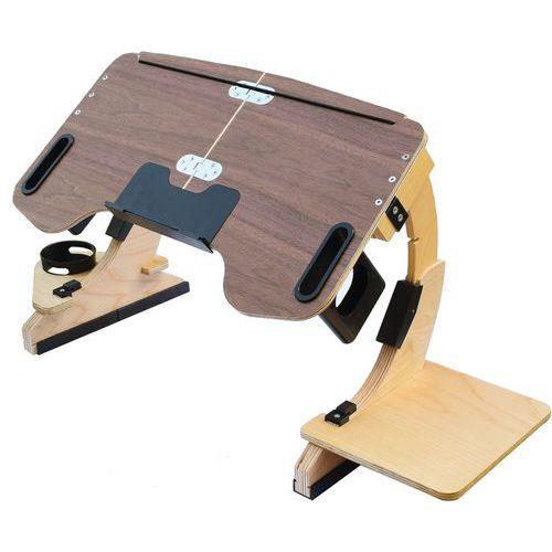 Mini bureau avec plateau ajustable