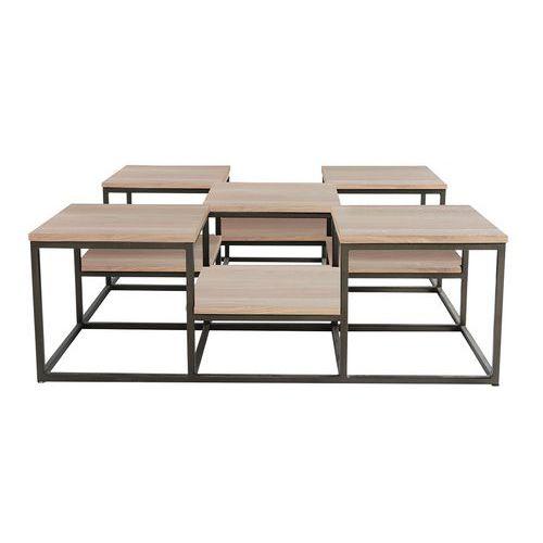 Table basse Atelier multi plateaux