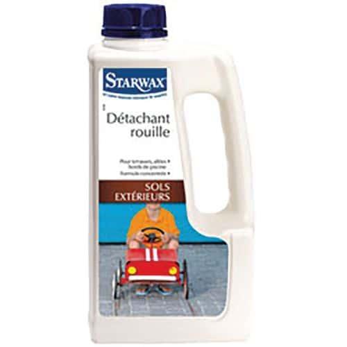 Détachant rouille pour sols extérieurs - Starwax