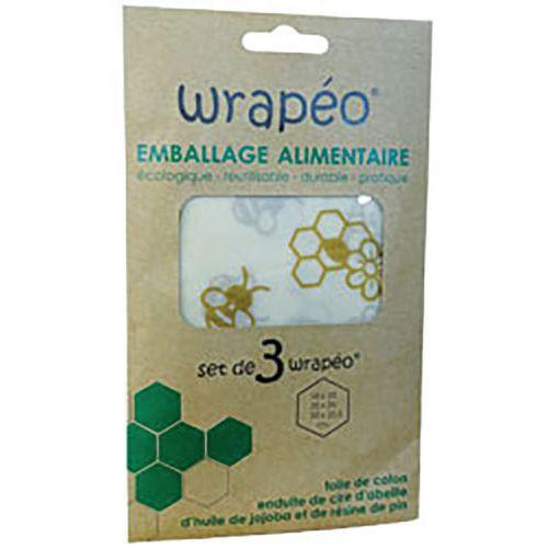Emballage coton cire d'abeille - Markindus