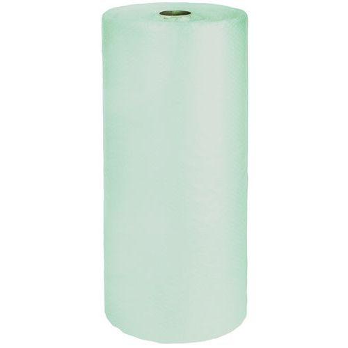 Film à bulles vert translucide recyclé - Ø 10 mm - 35 µ