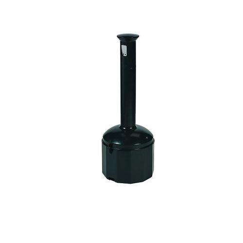 Cendrier en plastique - Gris anthracite - 10 L - Probbax