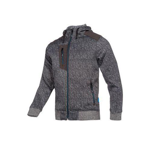 Veste zippée à capuche Hayton Gris - Sioen