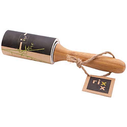 Rouleau à vêtements avec poignée en bambou - Point virgule
