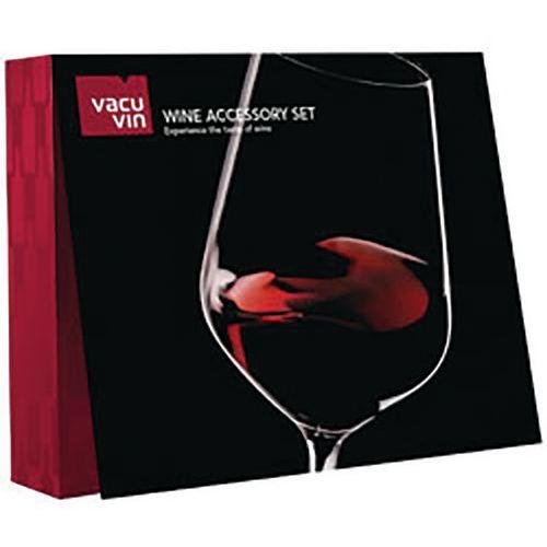 Coffret sommelier 6 accessoires - Vacuvin