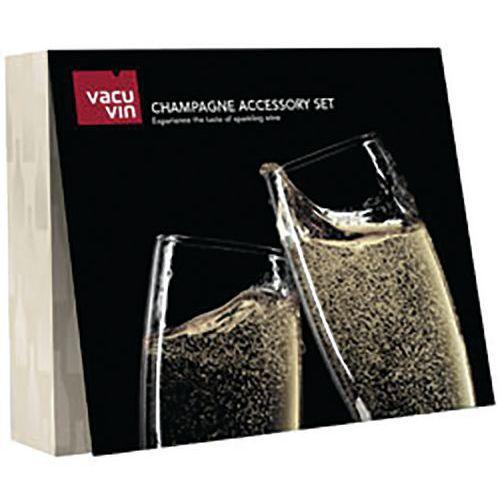 Coffret accessoires à champagne - Vacuvin