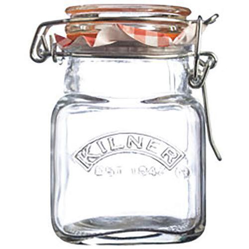Bocal à épices verre carré - Kilner