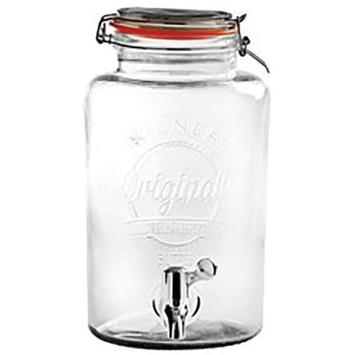 Distributeur de boisson en verre - Kilner