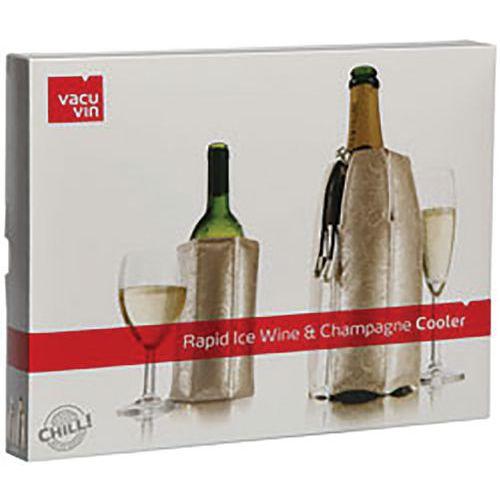 Rafraîchisseur à bouteille rapid ice wine et champagne - Vacuvin
