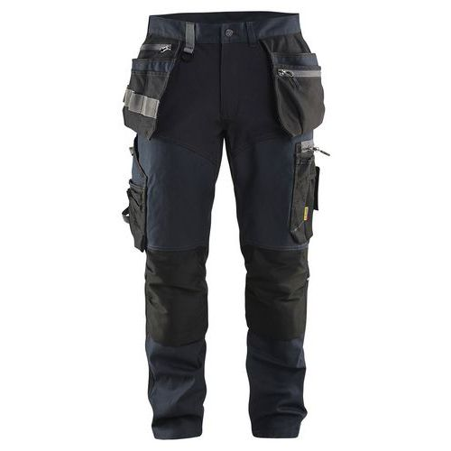 Pantalon de travail 1599 Marine foncé/Noir - Blaklader